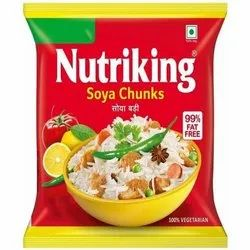 Nutriking Soya Chunks, Packaging Size: 50 gm, Packaging Type: Packets