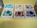 Decorative Flower Inlay Work White Marble Box
