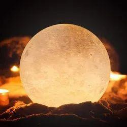 Brown Moon Deodap 3d Printing LED Moon Night Light