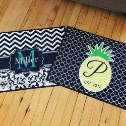 Printed Table Mats 12 By 18 Inch
