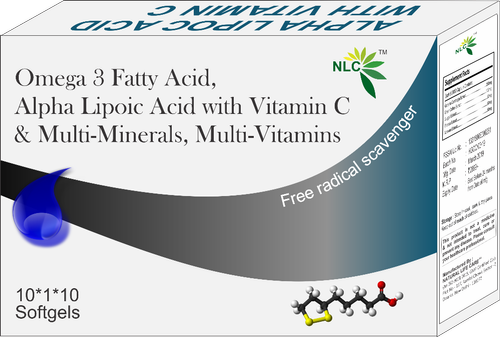 Alpha Lipoic Acid & Vitamin C Softgel Capsules
