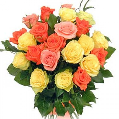 Mix Roses Flowers Bouquet Mixed Flowers Gifts World Ahmedabad