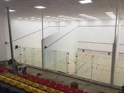 Wooden Flooring Squash Court Flooring Indoor Squash Sports Court Flooring, Thickness: 76-85mm