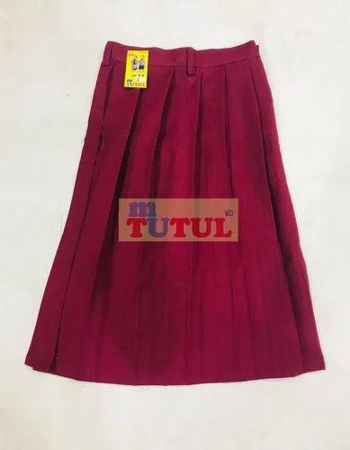5a602b1fd Cotton Medium School Uniform Skirt For Girls, Rs 55 /piece | ID ...
