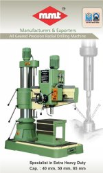 55 mm Precision Radial Drill Machines