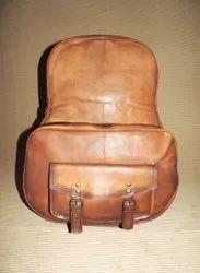 Goat Leather Backpack Bag
