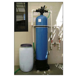 Manual Residential Softener Plant