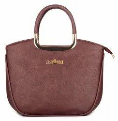 The Clownfish Princess Series Handbag for Women, Ladies Purse,Handbags (Dark Brown)