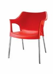 Nilkamal Cafeteria Chairs, Color : Red, Blue, Orange, Yellow, Green