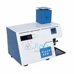 Scientific Mild Steel Flame Photometer Microprocessor
