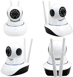 Q100 Wireless HD IP Camera Dual Antenna Rotating Pan Tilt HD IP WiFi Camera Indoor Security Camera