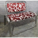 Stainless Steel 2 Seater Sofa
