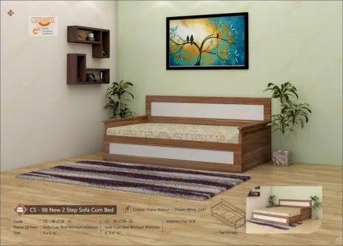 Designer Sofa Cum Bed With Mattress