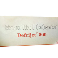Defrijet Tablets (Deferasirox Tablets)