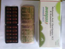 Mefenammic Acid Dicyclomine Acetaminophen Tablets