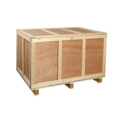 Edible & Non-Edible Moisture Proof Plywood Shipping Box, 5 - 10 mm, Box Capacity: 500 - 800 kg
