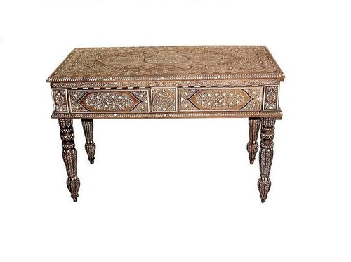 Phenomenal Anglo Indian Bone Inlay Study Tables Dailytribune Chair Design For Home Dailytribuneorg