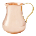 Mughlai Copper Jug with Ice Catcher