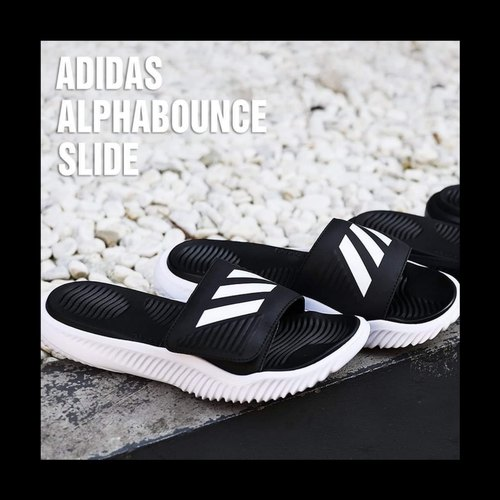 Casual Adidas Alphabounce Slides, Size