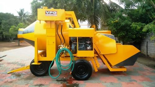 RM800 Engine Type Reversible Drum Mixer