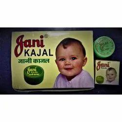 Black Jani Eye Kajal, Pressed Powder, Packaging Size: 10 Piece