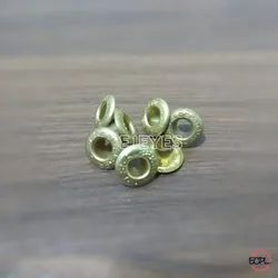No. 700 Brass Embossed Eyelets Golden