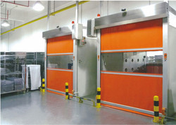 High Speed Industrial Rapid Door