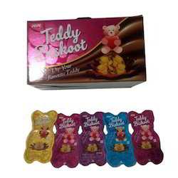Teddy Shape Chocolate Dip Biscuit