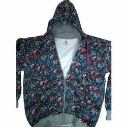 Full Sleeve Printed Ladies Designer Jacket