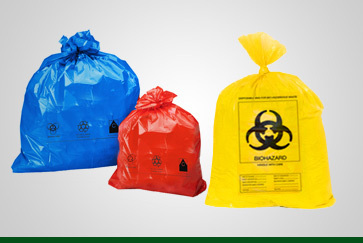 Plastic Biomedical Waste Collection Bag, Capacity: 16-30 Litre