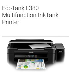 Epson l 380 Multi Function Ink Tank Printer