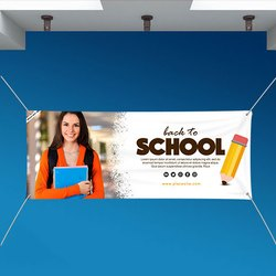 MS Printed Flex Banner for Advertising