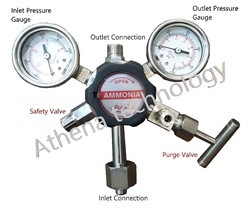Ammonia High Pressure Gas Regulators