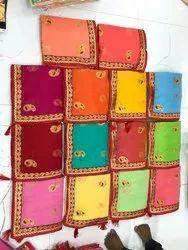 Designer Supernet Embroidery Saree