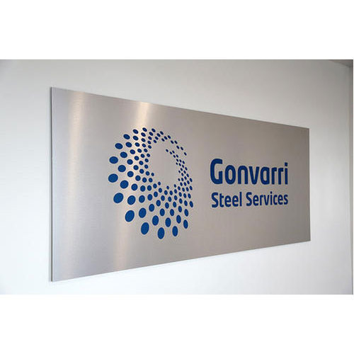 Stainless Steel Etching Signage - Sign Age And Engineering Private
