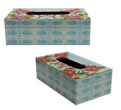 MDF Wooden Tissue Box