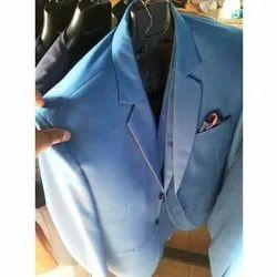 Blue Mens Casual Coat