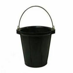 Hard Rubber Black Rubber Bucket