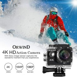 Action Camera Sports Cam 16MP Action Cam HD WiFi