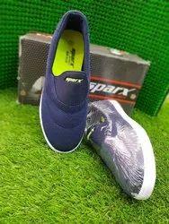 Blk blu sky Men Sparx Shoes, Size: Medium