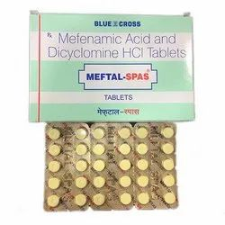 Mefenamic Acid and Dicyclomine HCI Tablets