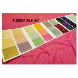 Tussah Silk Fabric