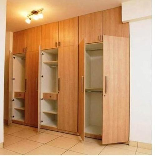 Wood Brown Wooden Wardrobe Rs 1000 Square Feet Subak Engineers