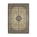 Printed Kashmiri Silk Carpet, Shape: Rectangular