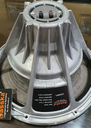 Aluminium Brushed Gray Dasska DX 2262, 12 Inch DJ Speaker 700W