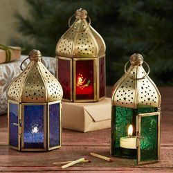 Candle Glass Lantern