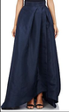 Nevy Blue Long Women Skirts