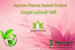 Kanya Lohadi Vati  -  Menorrhagia,Amenirhoea的草本Sastrokta产品