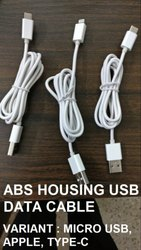 ABS Housing USB Data Cable