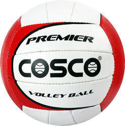 Cosco Red and white Volley Ball, Size: 5